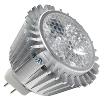 MR16/5RGB/FL/LED 80728 LED MR16 4W 31DEG RGB COLOR CHANGING GU5.3 PROLED