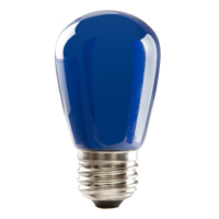S14BLU1C/LED 80518 LED S14 1.4W BLUE DIMMABLE E26 PROLED