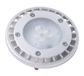 PAR36WFL4/827/IP67/LED 81074 LED PAR36 4W 2700K Dimmable 32 MP-Term ProLED Wet Location Silver