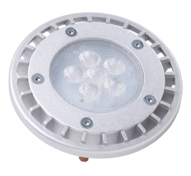 PAR36WFL6/827/IP67/LED 81075 LED PAR36 6W 2700K Dimmable 32 MP-Term ProLED Wet Location Silver