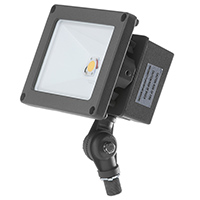 FL1C/CL21BZ50/LED 99900 LED Compact FLOOD LIGHT BRONZE 120-277V 21W 5000K Non-Dimmable 112 Degree