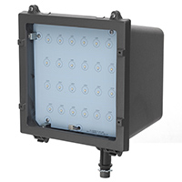 FL2/CL41BZ50/LED 99902 LED MEDIUM FLOOD LIGHT Bronze 120-277V 41W 5000K Dimmable 30 Degree