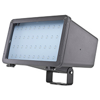 FL3/CL75BZ50/LED 99903 LED Large Flood Light Bronze 120-277V 75W 5000K Dimmable 100 Degree