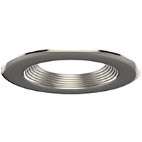 "DL4/BN 99936 4"" BRUSHED NICKEL TRIM-STEPPED BAFFLE"