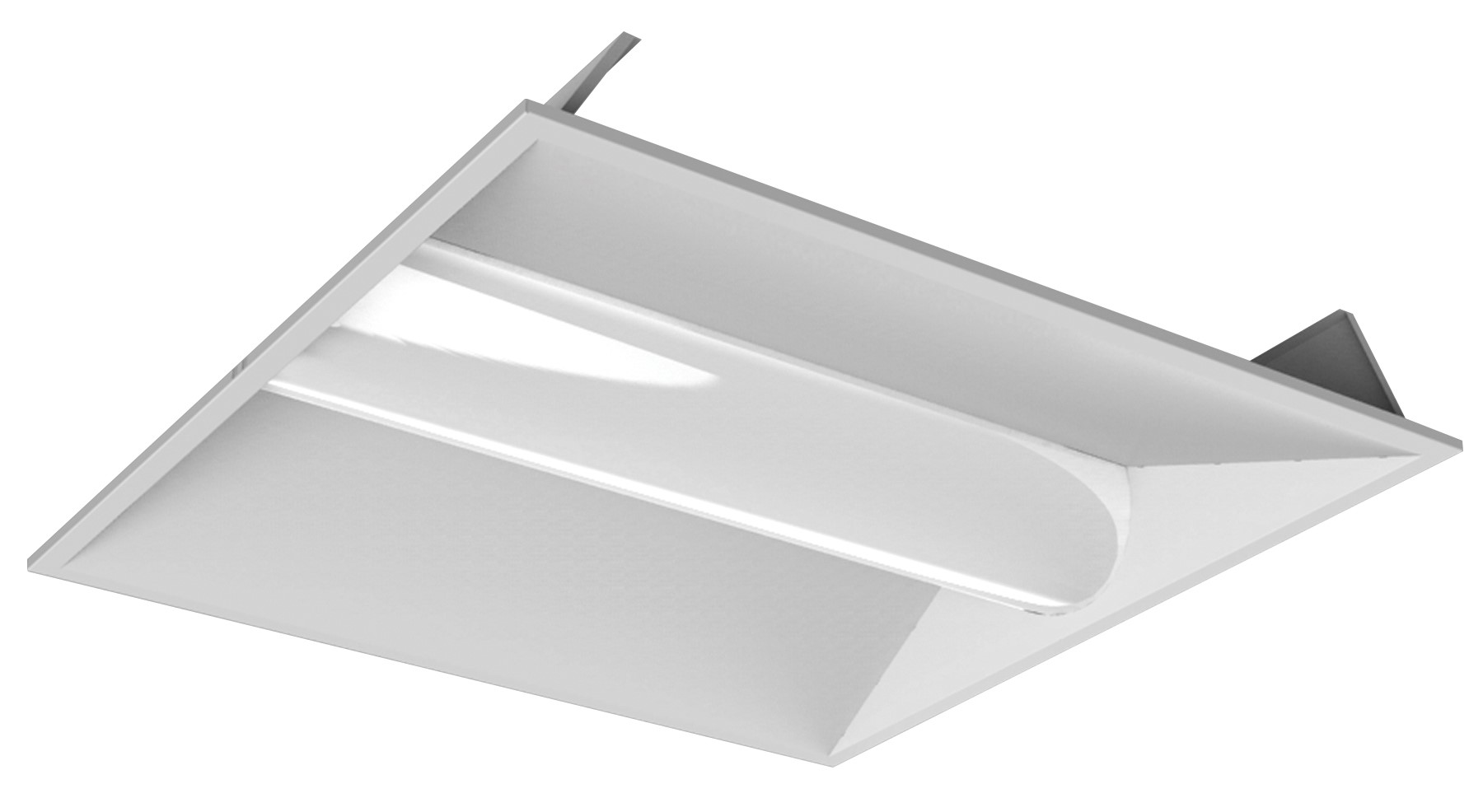 22TFR35/840/LED 80890 LED VOLUMETRIC PANEL 2X2 35W 4000K 0-10V DIMMABLE