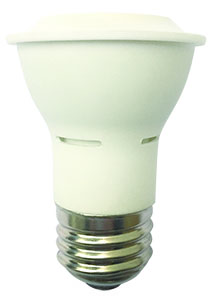 PAR16FL6/850/W/LED 81041 LED PAR16 6W 5000K DIMMABLE 40 DEGREE E26 PROLED