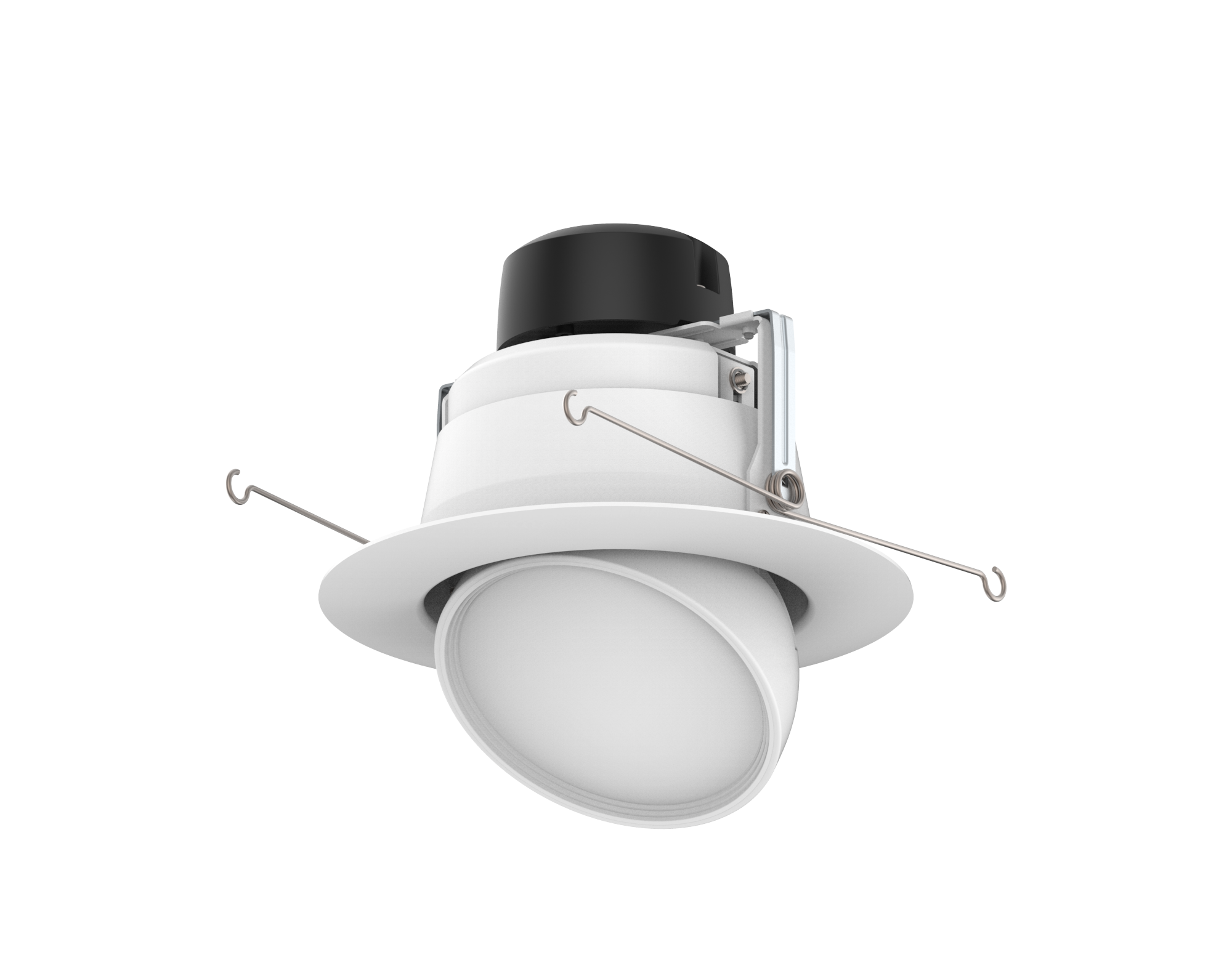"ADL6FR12/927/LED 99970 6"" Round Adjustable LED Downlight, 2700K"