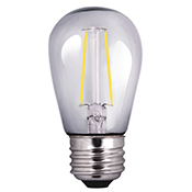 S14CL2ANT/827/LED 81139 S14 2W 2700K NON-DIMMABLE FILAMENT E26 ProLED