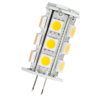 JC20/2AMB/LED 80782 LED JC 1.8W AMBER NON-DIMMABLE G4 PROLED