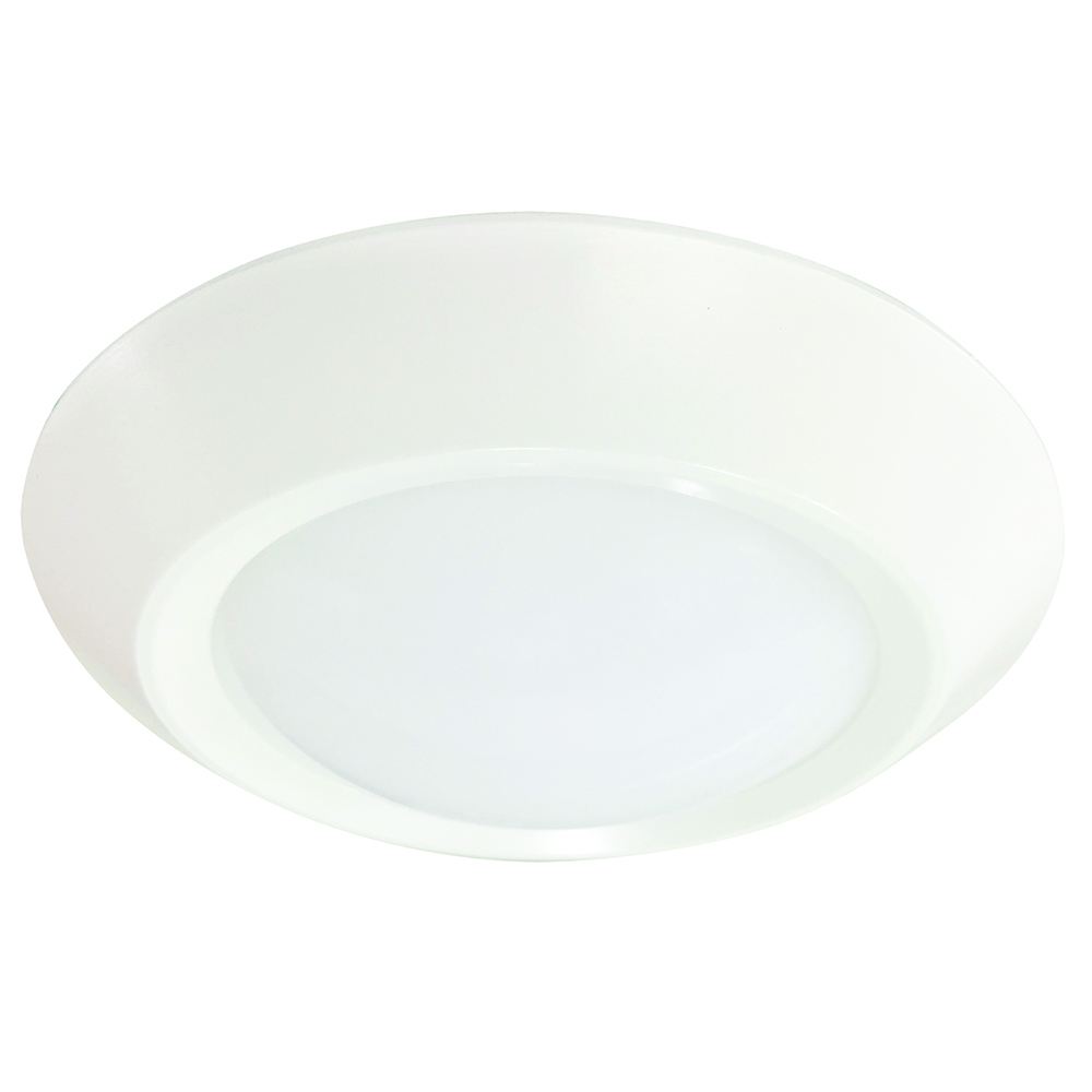 "SDL6FR11/827/LED2 99871 6"" Surface LED Downlight, 120V, 11W, 2700K, Dimmable"