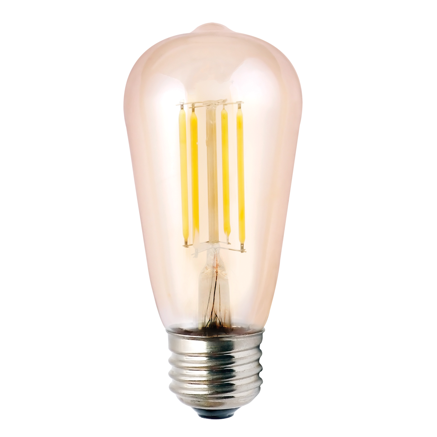 ST19AMB5ANT/822/LED2 85044 ST19 5.5W AMBER 2200K DIMMABLE FILAMENT E26 ProLED