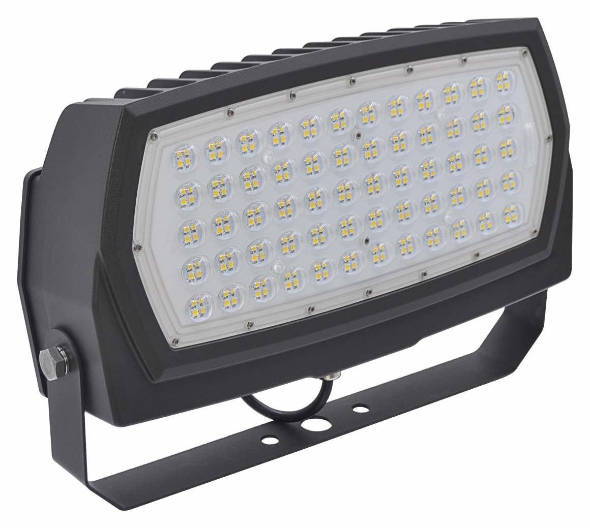 FL4/CL200BZ50U/YK 99676 LED EXTRA LARGE FLOOD 200W 5000K BRONZE 120-277V ARCH YOKE MOUNT