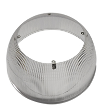 RHB200240/RFRPC/90D 10267 ROUND HIGH BAY 200W/240W; 90 DEGREE, POLY CARBONATE REFLECTOR