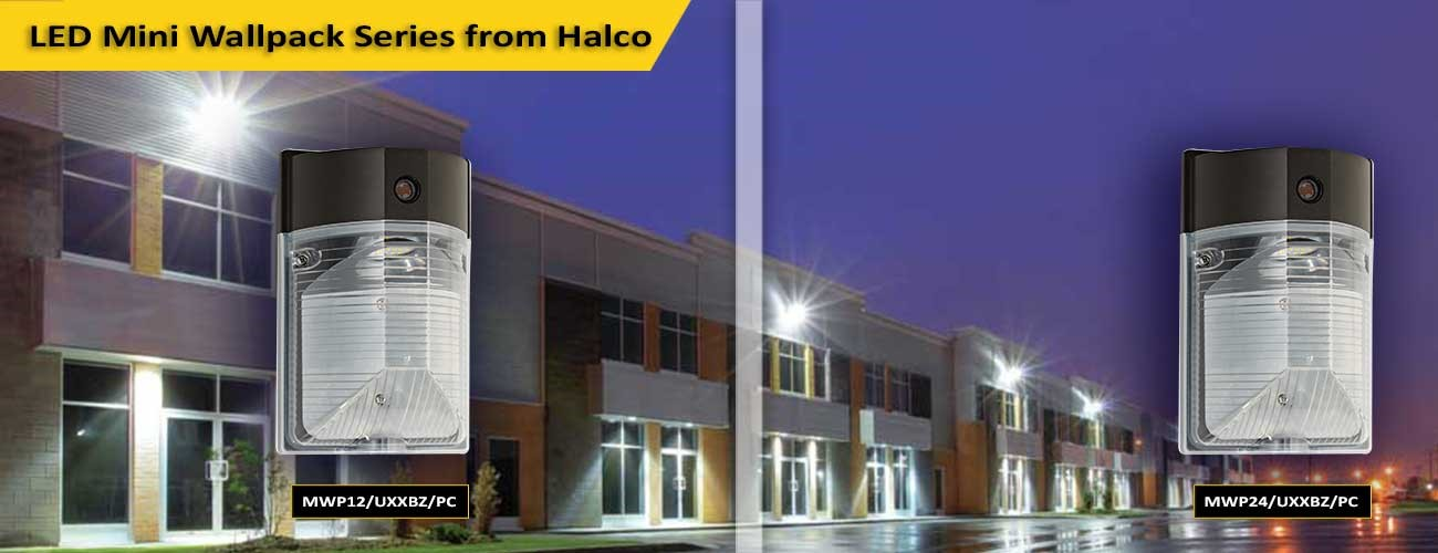 outdoor can lights square led mini wallpack series home halco lighting technologies