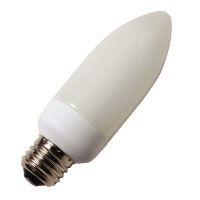 CFL5CE/30/E26 109006 5W SPIRAL CANDLE 3000K MED PROLUME