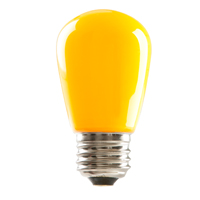 S14YEL1C/LED 80520 LED S14 1.4W YELLOW DIMMABLE E26 PROLED