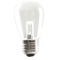 S14CL1C/827/LED 80522 LED S14 1.4W CLEAR 2700K DIMMABLE E26 PROLED