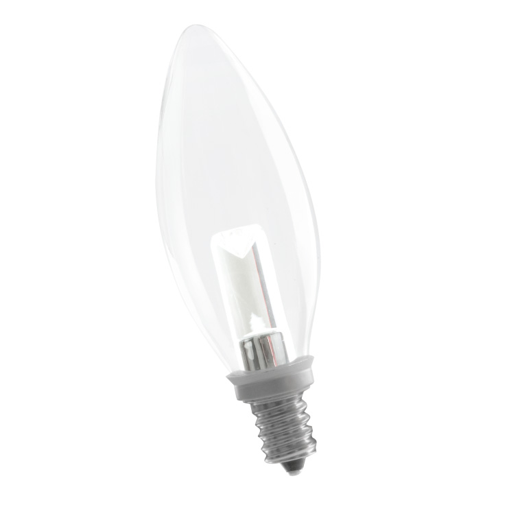B10CL1/724/LED 80173 LED B10 1W 2400K DIMMABLE E12 PROLED