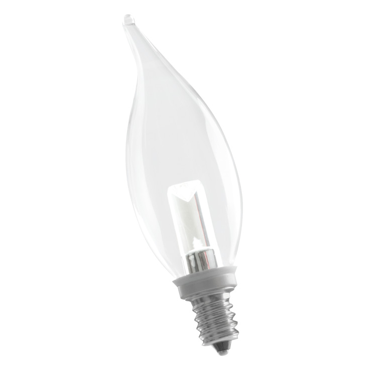CA10CL1/724/LED 80175 LED CA10 1W 2400K DIMMABLE E12 PROLED