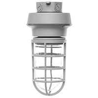 VT1/CL13GRY50/CM/LED 99904 LED Vaportight Light Grey Ceiling Mount 120-277V 12.7W 5000K Dimmable
