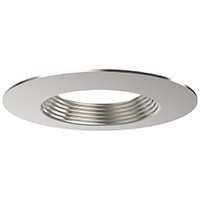"DL6/BN 99932 6"" BRUSHED NICKEL TRIM-STEPPED BAFFLE"