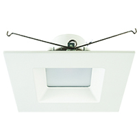 "QDL6FR15/930/LED 99957 6"" Square LED Downlight, 3000K"