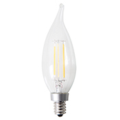 CA10CL4ANT/827/LED 81137 CA10 4W 2700K DIMMABLE FILAMENT E12 ProLED
