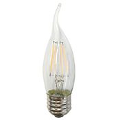 CA10CL4ANT/827/E26/LED 81138 CA10 4W 2700K DIMMABLE FILAMENT E26 ProLED