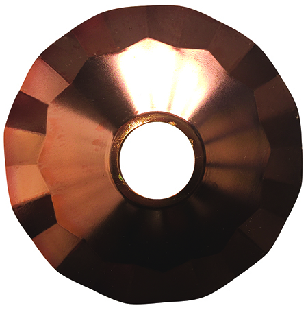 DSL/FSTR-CU 99604 Decorative Strand Steel Reflector Copper Finish