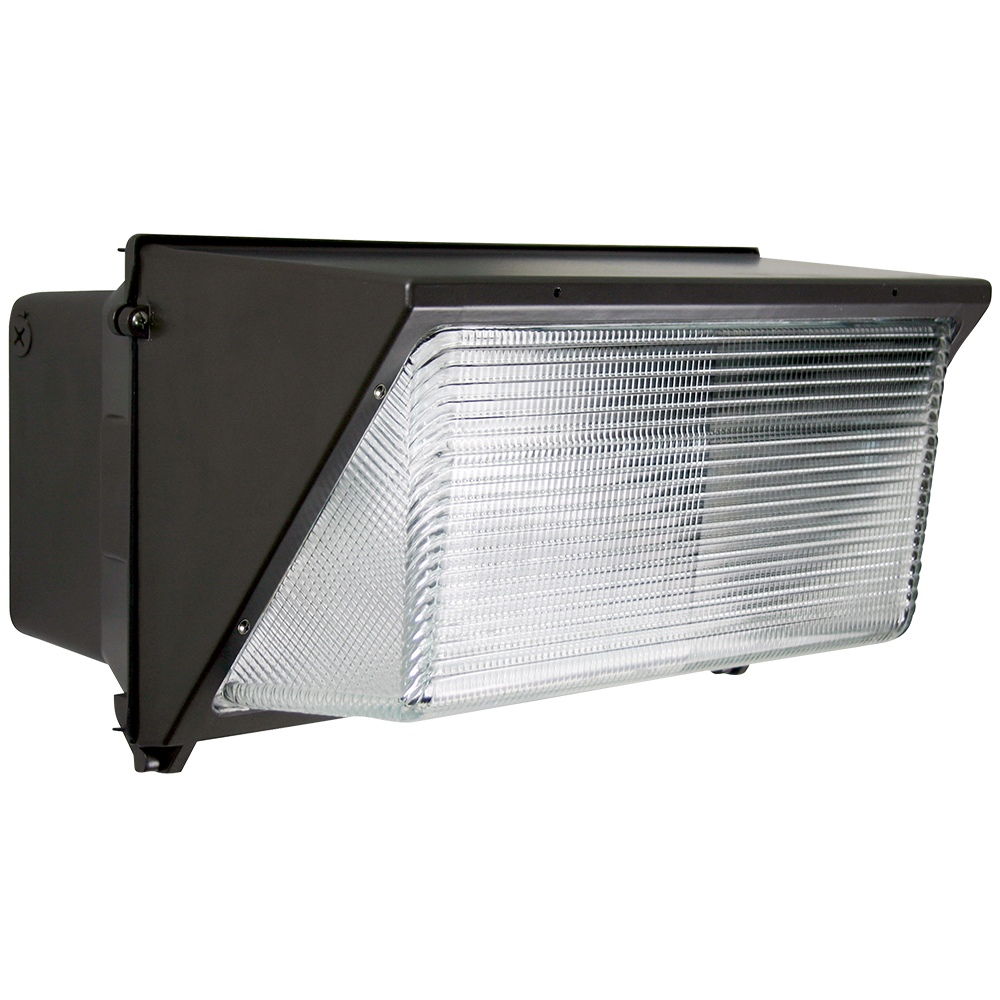 WP4/CL120BZ50/LED 99918 LED Large Wallpack 120-277 Dimmable 120W 5000K Bronze Finish