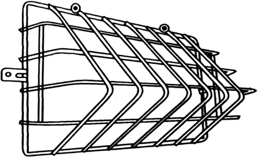 WG2/WP2 10111 Wire Guard for Wallpack 10108 & 10109