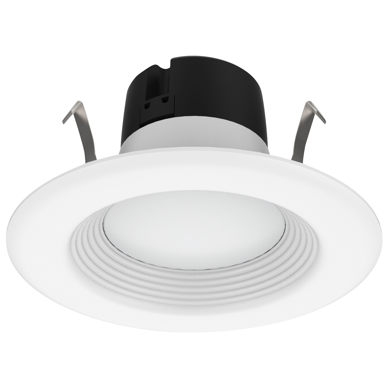 "DL4FR9/927/RT2/LED 99823 4"" LED RETROFIT DOWNLIGHT 8.5W 2700K DIMMABLE E26 REPLACEABLE-WHITE TRIM-WHITE BAFFLE"