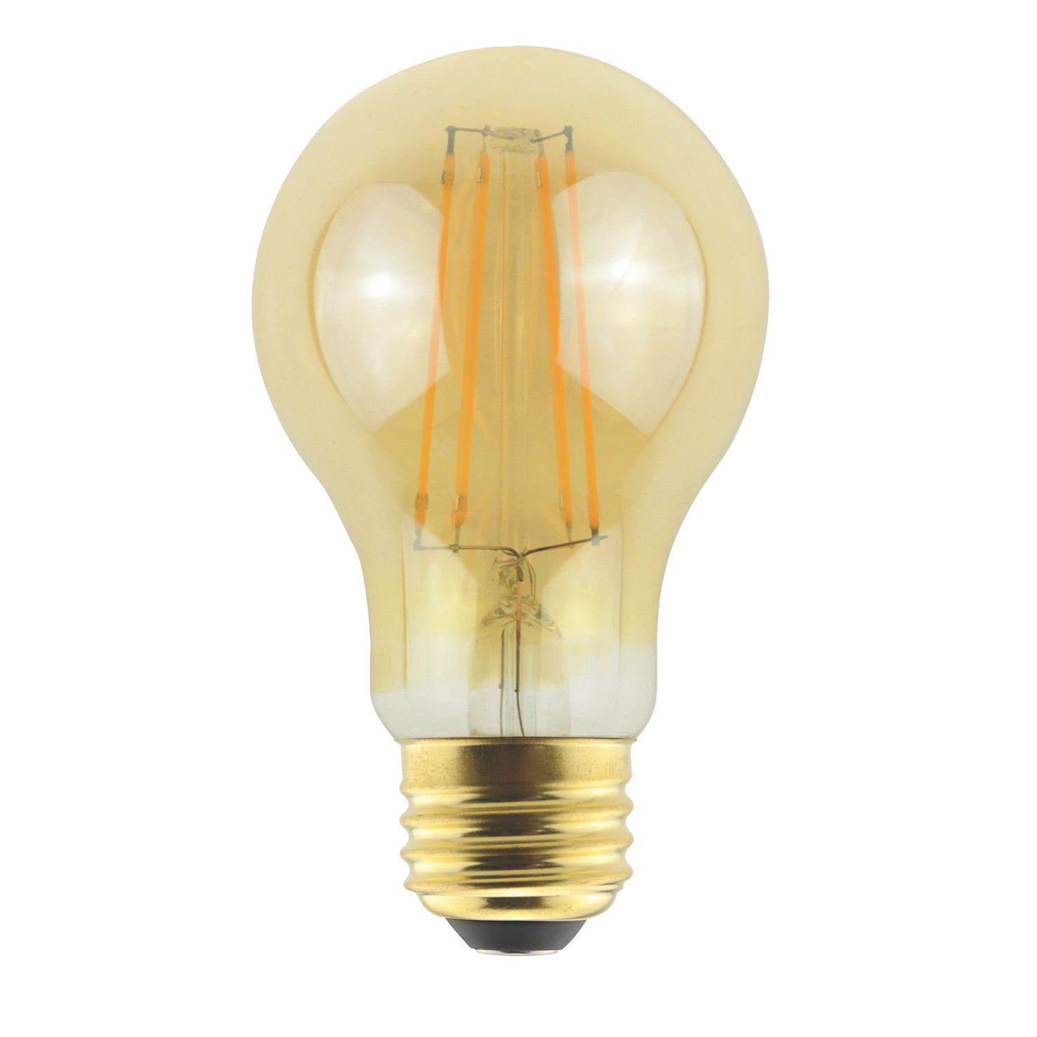A19AMB5ANT/820/LED2 85038 A19 120V 5W 2000K E26 AMBER ProLED
