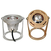 LFF-S2W-120-N1-WG-WB-10-CB-DEMO 24059 FS2 CAST BRONZE W/ GUARD AND BASE NARROW BEAM CW