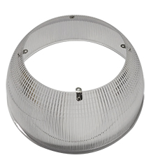 RHB150/RFRPC/90D 10266 ROUND HIGH BAY 150W; 90 DEGREE, POLY CARBONATE REFLECTOR
