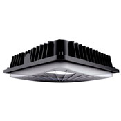 CSP/28U40/MS 10290 SLIM CANOPY; PARKING GARAGE DISTRIBUTION, 28W, 120-277V, 4000K, BI-LEVEL MOTION SENSOR