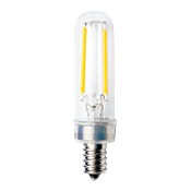 T6CL2ANT/830/LED2 85083 T6 120V 2.5W 3000K E12 CLEAR PROLED